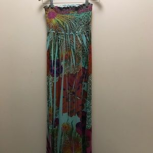 Dresses & Skirts - Tube top summer maxi dress. One size